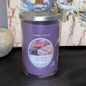 Yankee Candle Lavender & Rose Petals Candle
